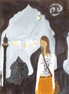 JULY 2014 HOROSCOPE - Emirates Woman. Illustration by Kirsten Sims.
