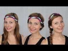 3 Coiffures Faciles avec un turban Headband - @mathildewurtz +mathilde wurtz