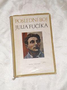 Vintage czech book. Book about Julius Fucik. by VintageUSSRshop