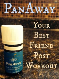 Young Living Essential Oils PanAway for muscle aches and pain Your Best Friend Post Workout #essentialoils #youngliving
