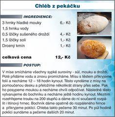 Láďa Hruška vaří LEVNĚ A CHUTNĚ: Upečte si vlastní chleba za 12 Kč!