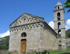 Région du Valinco - Santa-Maria-Figaniella - Santa Maria Figaniella, église romane Santa Maria Assunta, l'un des meilleurs exemples de l'héritage pisan en Corse.