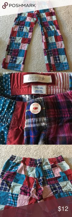 Aerie pajama bottoms Colorful and comfortable pajama bottoms from Aerie! Lightly worn Intimates & Sleepwear Pajamas