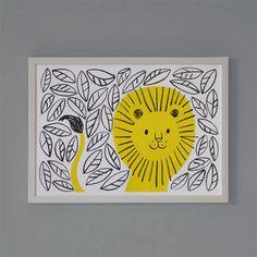 Image of Jungle Lion print