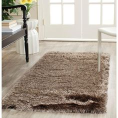 Paris Shag Sable 2 ft. 3 in. x 10 ft. Runner