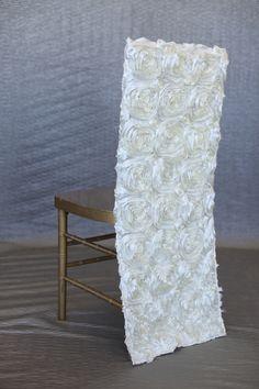 Rosette Chair Cover Back