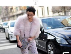Day 4 - Elisa Carassai in #waitandseestyle as featured on http://style-anywhere.com/2014/02/22/elisa-carassai/ #MFW #MFW14