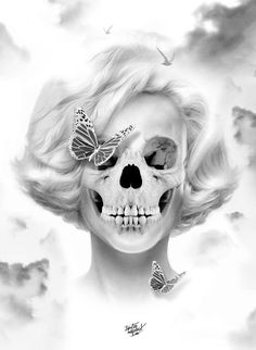 Bye bye Baby - Skullspiration.com - skull designs, art, fashion and more