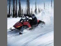 Athelstane, WI  Snowmobile rides explore groomed north woods trails on the state of the art snowmobiles. A snowmobile day starts mid morning, stops for lunch at a trail side pub and grub, then circles back to the ranch in the afternoon. The experience includes a snowmobile, helmet, gas, oil and an experienced trail guide with local knowledge and safety gear.