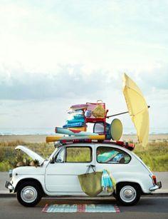 Italiener reisen stilvoll. Die #Lieblingstasche darf dabei unter keinen Umständen fehlen.