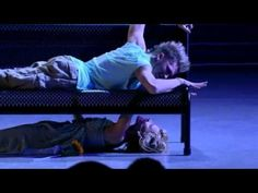 Mia Michaels contemporary choreo. (aka: Bench Routine) with dancers Travis Wall, 18, & Heidi Groskreutz. Summer, 2006.  SYTYCD, season 2.