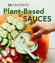 20 Favorite Plant-Based Sauces Who else thinks sauces make the dish? We've compiled 20 of our favorite plant-based sauce recipes to add incredible flavor to every meal. Plant Based Diet Meals, Plant Based Meal Planning, Vegan Recipes Plant Based, Plant Based Whole Foods, Plant Based Eating, Plant Based Snacks, Plant Based Dinner Recipes, Plant Diet, Vegan Foods