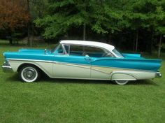 1958 Ford Fairlane 500 | One of my very favourite cars!