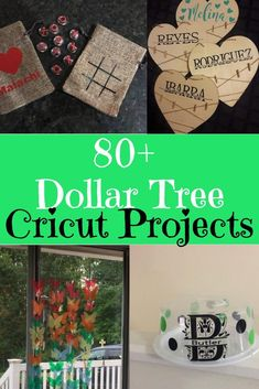 Dollar Tree Cricut and Silhouette Projects Dollar Tree Cricut-Projekte / Dollar Tree Crafts / Dollar Tree Projects / Dollar Store Crafts / Cricut-Projektideen / Cricut Maker / Cricut Explore Air / Dollar Tree Cricut, Dollar Tree Crafts, Dollar Tree Classroom, Cricut Craft Room, Cricut Vinyl, Cricut Air, Cricut Help, Cricut Explore, Fun Craft