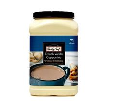 Daily Chef French Vanilla Cappuccino Beverage Mix 23lb * Read more reviews of the product by visiting the link on the image.