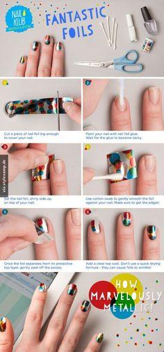 DIY: Konfetti - Nails