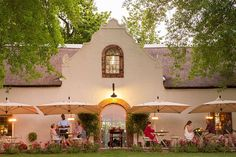 The city of oaks is home to some fabulous restaurants – from haute-cuisine estate eateries to homely country kitchens, and even a self-service burger deck. Quirky Art, Wood Fired Pizza, Beer Garden, Cape Town, Day Trip, Places To Eat, South Africa, Gazebo, Outdoor Structures