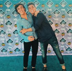 the dolan twins they won one :)