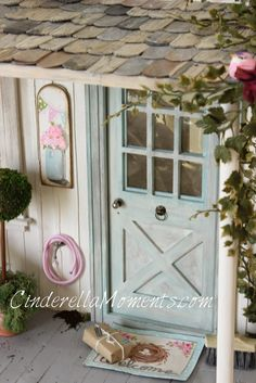 Cinderella Moments Blythe shabby chic dollhouse custom