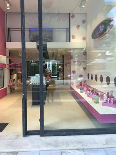lucy pink stores  #lucypink #athens #cosmetics #bodycare #facecare Face Care, Body Care, Athens, Cosmetics, Mirror, Store, Pink, Home Decor, Decoration Home