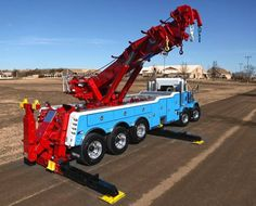 Miller Rotator on twin steer Big Rig Trucks, Show Trucks, Heavy Duty Trucks, Logging Equipment, Heavy Equipment, Peterbilt Trucks, Chevy Trucks, Car Hauler Trailer, Towing And Recovery