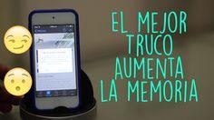 Truco | Aumenta La Memoria de tu iPhone, iPod Touch y iPad - YouTube