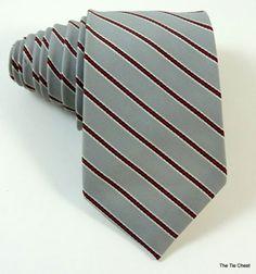 Totally Classic! Ambassador Striped Necktie