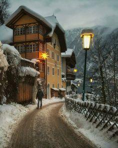 Hallstatt, Austria Photo: @bu_khaled
