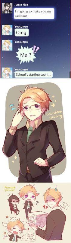 He's so sweet  >.<