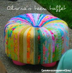 Sew what's cooking with Joan!: Miss Muffet sat on her Tuffet!