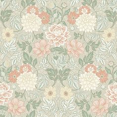 Stunningly lovely and strikingly intricate, our Dahlia Garden wallpaper is the perfect pick for elegant homes. Of Wallpaper, Designer Wallpaper, Pattern Wallpaper, Wallpaper Ideas, Cosy Cottage, Futuristic Furniture, Interior Paint Colors, Pattern Images, Kitchens