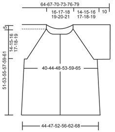 """DROPS 111-7 - DROPS jacket with raglan in """"Silke Alpaca"""". Size S - XXXL. - Free pattern by DROPS Design"""