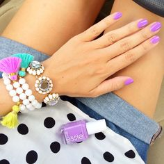 """The perfect nail polish for summer, Essie's """"play date"""""""