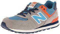 """Jungen Sneaker """"KL574"""" - http://on-line-kaufen.de/new-balance/40-eu-new-balance-kl574-lxp-sneaker-kinder"""