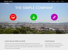 View the Simple Company Template Details