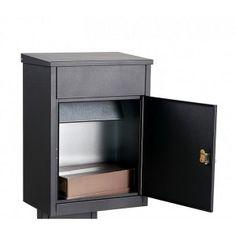 Rottner Parcel Keeper 500 Black Letterbox Safe