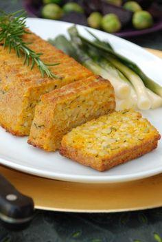 Vegetarian recipes: Rose Elliot's Pine Nut & Carrot Roast with Mushroom Sauce