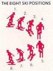 Atari Skiing
