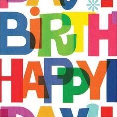 """Gift Wrap 5'X30""""-Giant Birthday"""