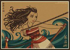 Moana by Villian-KucingKecil.deviantart.com on @DeviantArt
