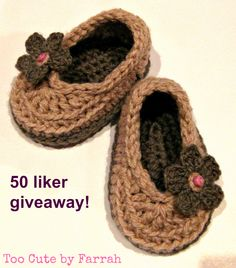I'm having a 50 liker giveaway through my FB page - posting domestically within Australia only at this time, sorry. www.facebook.com/TooCutebyFarrah. For purchase of goods, please see www.madeit.com.au/toocutebyfarrah Baby Booties, Baby Shoes, My Fb, Fb Page, Cute Babies, Giveaway, Australia, Facebook, Crochet