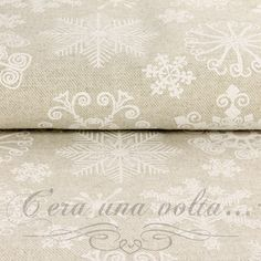 Merceriaceraunavolta.it | Tessuto natalizio Fiocco di Neve