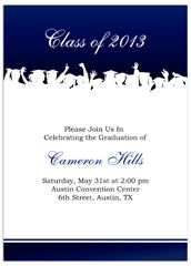 Free Invitation Templates for Word | ... Free Graduation ...