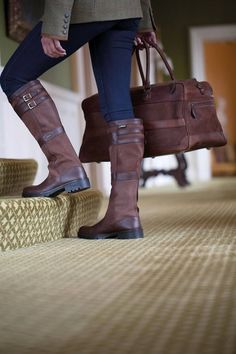 Dubarry of Ireland - Love the matching travel bag