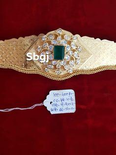 Gold Bangles Design, Gold Jewellery Design, Diamond Jewellery, Gold Wedding Jewelry, Bridal Jewelry, Gold Jewelry, Jewelry Design Earrings, Gold Earrings Designs, Vaddanam Designs