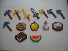 minecraft melted beads | 8005672163_e0cbbbb960_z.jpg
