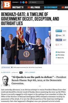 Obama's Shameful and Sordid Benghazi Timeline