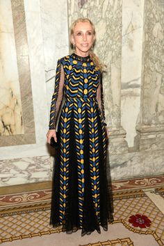Editor-in-chief of Vogue Italia Franca Sozzani proved that prints will always be in style.