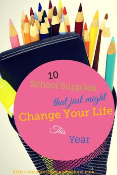10 School Supplies That Just Might Change Your Life This Year