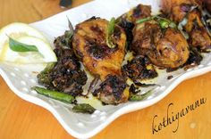 Kothiyavunu.com : Nadan Kozhi Varuthathu Recipe - Kerala Style Chicken Fry Recipe